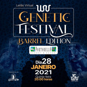 Leilão Virtual WV Genétic Festival - Barrel Edition