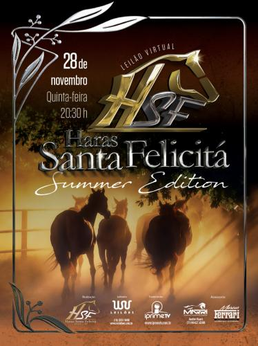 Leilão Virtual Haras Santa Felicitá - Summer Edition