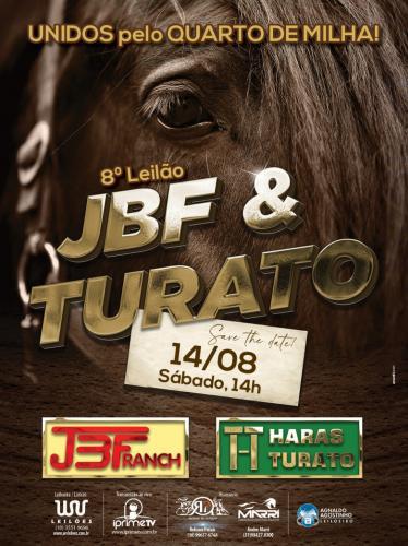 8º Leilão JBF Ranch & Haras Turato