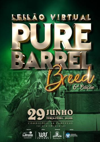 Leilão Virtual Pure Barrel Breed - 6ª Edição