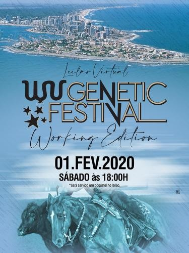 Leilão Virtual Genétic Festival Working Edition