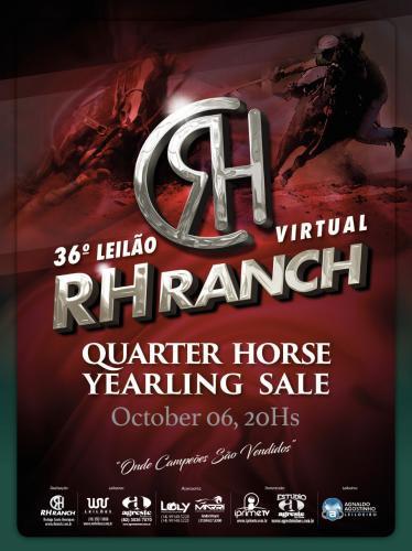 36º Leilão Virtual RH Ranch Quarter Horse Yearling Sale